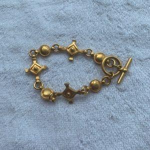 Ann Taylor Matte gold metal Bracelet • barely worn